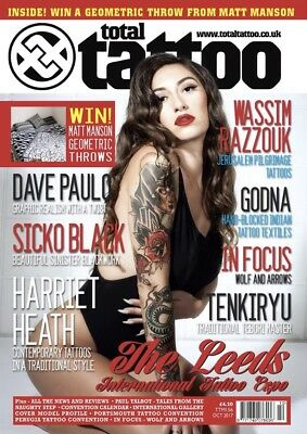 Total Tattoo Magazine October 2017 (BRAND NEW COPY)