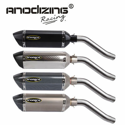 ANODIZING Exhaust Full System For KAWASAKI Z750 2010-2014
