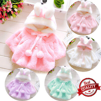 Baby Girl Jacket 2017 Winter Jacket For Thick Coat Kid Warm Fur Hooded Age 6-24M