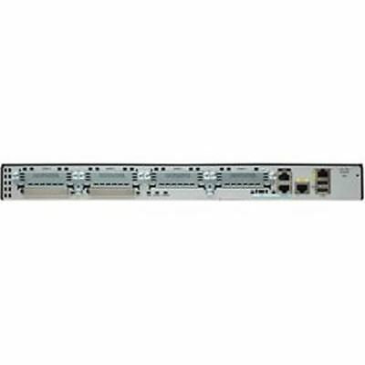 Cisco 2901 Integrated Services Router - 1 x Services Module, 4 x HWIC, 2 x Compa