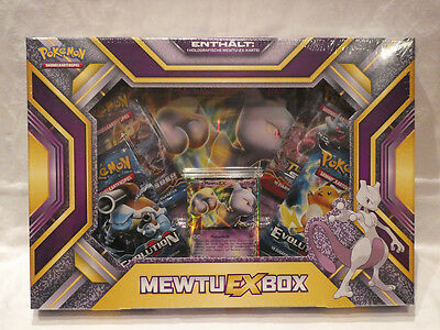 Pokemon Mewtu-EX-Box *Deutsche Version* - Sammelkartenspiel