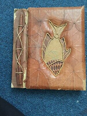 Natural Leaf Design Notebook