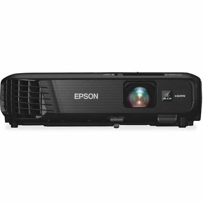 Epson PowerLite 1224 LCD Projector - HDTV - 4:3 - Front - 200 W - 1024 x 768 - X