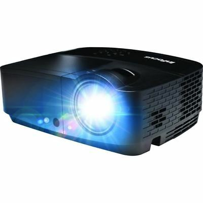 InFocus IN112x 3D Ready DLP Projector - 576p - EDTV - 4:3 - Front, Ceiling - 450