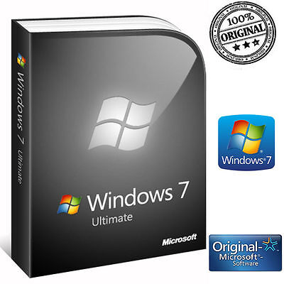 Licenza Windows 7 Ultimate No Oem 32/64 Bit Key Originale Esd Microsoft