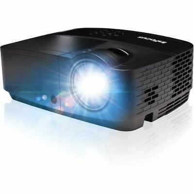 InFocus IN114x 3D Ready DLP Projector - 720p - HDTV - 4:3 - Front, Ceiling - 203