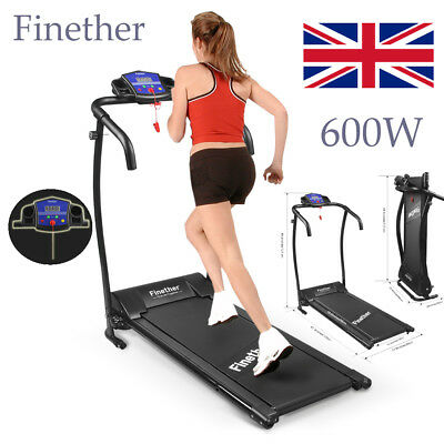 Foldable TREADMILL Manual Incline Electric Motorised Running Machine Gym Fitness