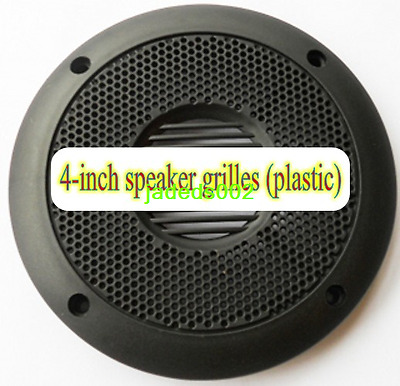 "1pcs 4""inch 130mm Plastic speaker protective grilles decorative circle Net cover"
