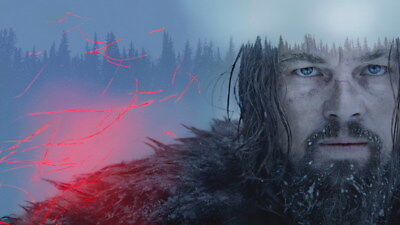 "140 Leonardo DiCaprio - The Revenant Handsome Actor Movie Star 24""x14"" Poster"