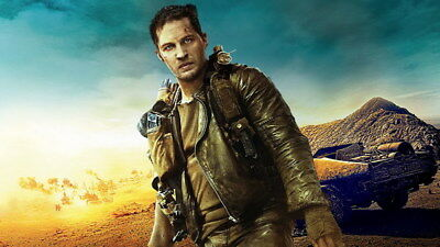 """144 Mad Max 4 Fury Road - Fight Shoot Car USA Movie 24""""x14"""" Poster"""