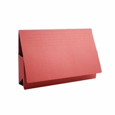 Guildhall Red Probate Document Wallet Pack of 25 PRW2-RED [GH14738]