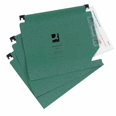 Q-Connect Green Manilla 275mm Lateral File (Pack of 25) KF01184 [KF01184]