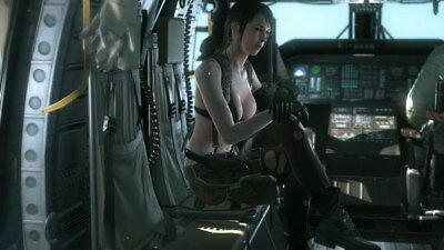 """263 Metal Gear Solid - Quiet Snake Rising v the Phantom Pain Game 42""""x24"""" Poster"""