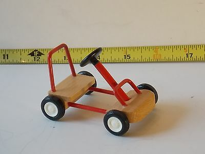 Go Cart Kart Caco Car Germany RETIRED Dollhouse Miniatures 1:12 Toy Vehicle Boy