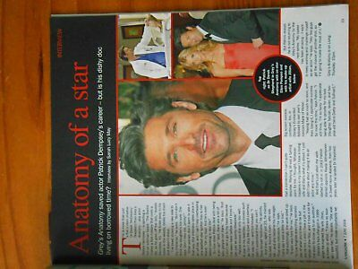 Sunday Express magazine with article about Patrick Dempsey