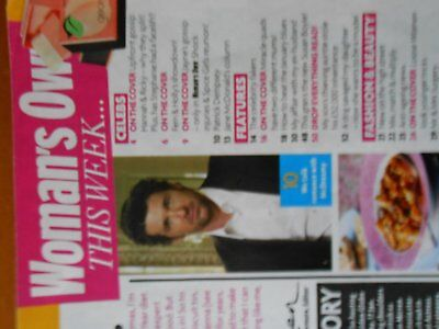 Woman's Own magazine with article about Patrick Dempsey