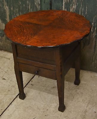 Vintage Wooden Sewing Table - 2228