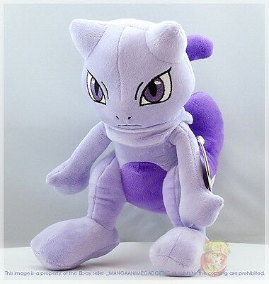 "Pokemon Mewtwo Plüsch Pokemon ミュウツー 12 ""/ 30cm Mewtwo Plüsch uk-lagerbestand"