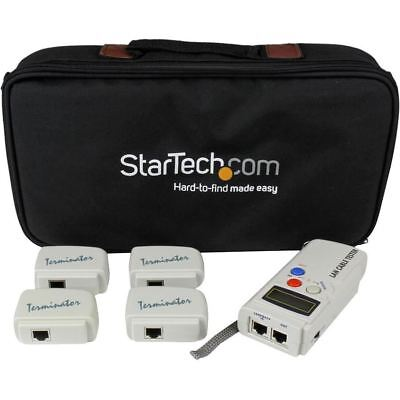 StarTech.com Professional RJ45 Network Cable Tester with 4 Remote Loopback Plugs