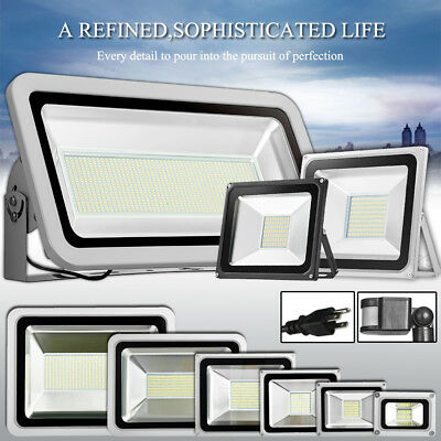 LED Flood Light 1000W 500W 300W 200W 150W 100W 50W 30W 20W 10W Spotlight Outdoor