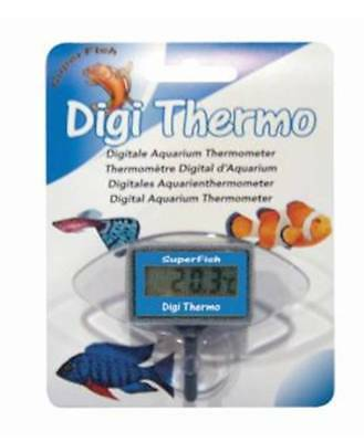 SuperFish Aquarium Fish Tank Digital Thermometer Submersible