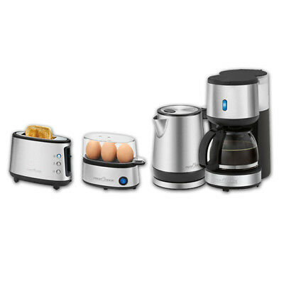 Profi Cook Set Single Serie: Kaffeemaschine , Toaster, Wasserkocher, Eierkocher
