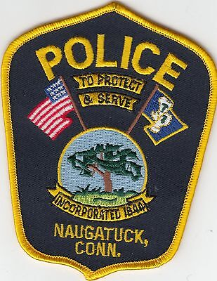 Naugatuck Connecticut Ct Police Patch