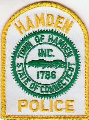 Hamden Connecticut Ct Police Patch