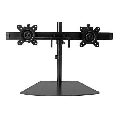 "StarTech.com Dual Monitor Stand - Crossbar - Supports Monitors up to 24"" - Vesa"