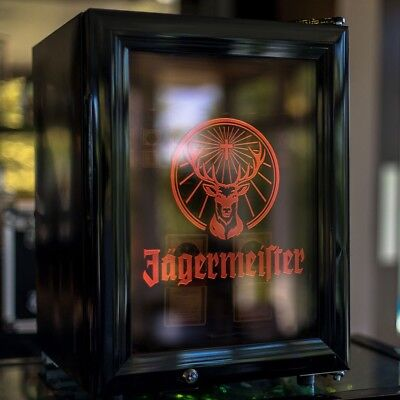 BNIB Jagermiester Freezer with 6 shot glasses, stag pourer, 20cl bottle & opener