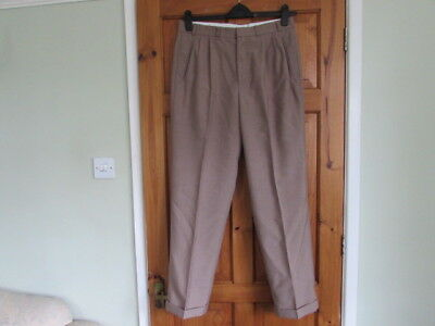 stagslax northern soul / 50s twin pleated turn up trousers W 32 X 31