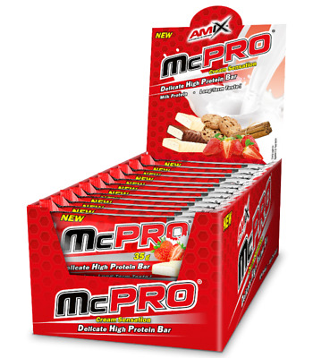AMIX McPRO PROTEIN BAR 20*60 GR