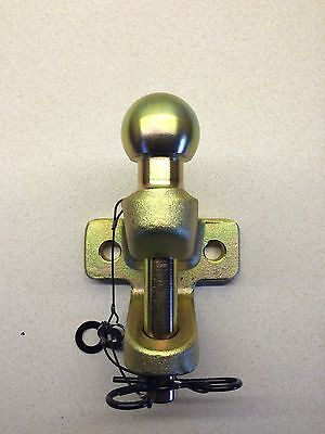 Tow Ball and Pin Jaw Hitch Commercial EC Approved 3.5 Tonne New