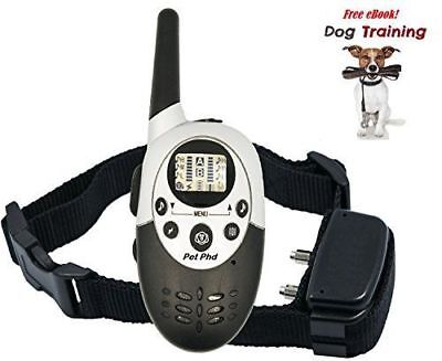 Dog Training Shock Electric e Collar for Dogs with Remote by PetPhD. NEW VERS...