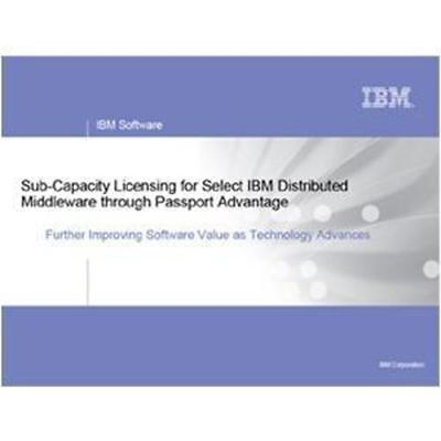 IBM WebSphere Application Server Network Deployment - Software Subscription and