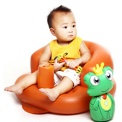Baby Sofa Inflatable Toddlers Learn Sit Stool Training Seat Dining Bath Chair