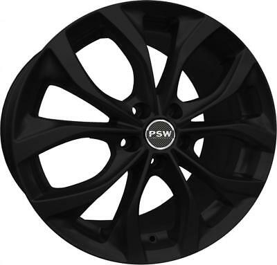 "Cerchi In Lega Pneusservice Villeneuve Matt Black 16"" 7J Jeep Renegade 09/2014&"