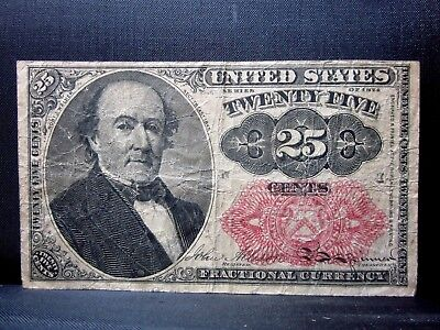 25C Fractional Currency ✪ Vf Very Fine ✪ 5Th Issue L@@k Cent T71 ◢Trusted◣