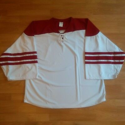 ATHLETIC KNIT H550B - PHOENIX - White - Goalie Size - NEW