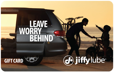 Buy a $60 Jiffy Lube Gift Card and Get a $15 code ($75 value) - Email Delivery