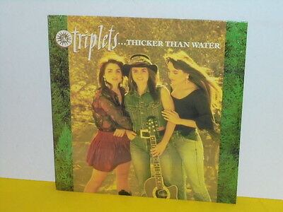 Lp - Triplets - Thicker Than Water