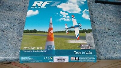 Real Flight 7. FREE UPGRADE TO 7,5  Simulator & Wired Transmitter Cable