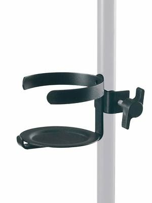 Mic Stand Glass Holder (Microphone Stand pint glass holder) Black