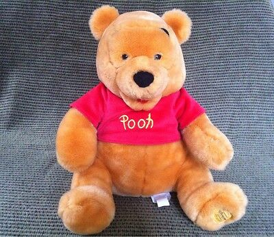 + Winnie The Pooh Plush Stuffed Animal Disney Bear Toy Authentic Disney Store