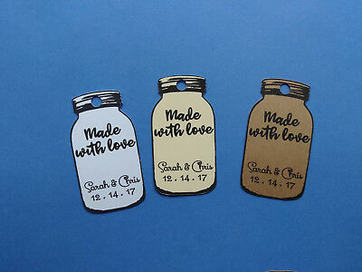 personalized wedding favors tags