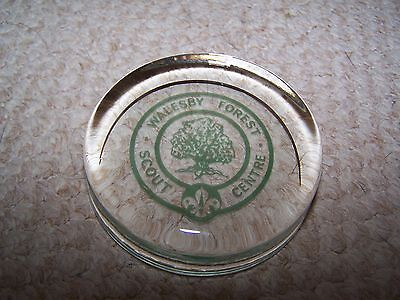 Walesby Forest Scout Centre Paperweight.