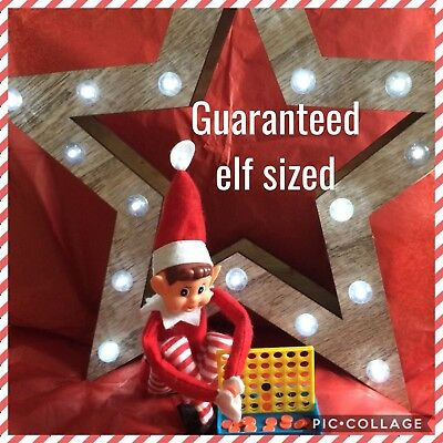 Elf On The Shelf Game Connect 4 For Elf Not Included Props Accessories Kit Set