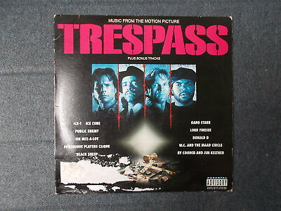 Trespass (Music From The Motion Picture) LP Sire/Warner Bros 1992