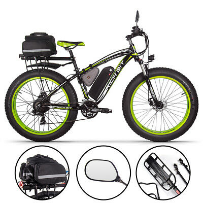 richbit 26 elektrofahrrad 1000w fatbike fahrr der. Black Bedroom Furniture Sets. Home Design Ideas