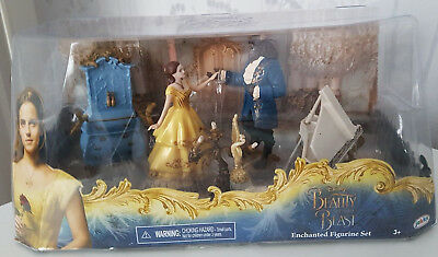 Beauty And The Beast 2017 Live Action Film: 5 Piece Figure Set Brand New In Box